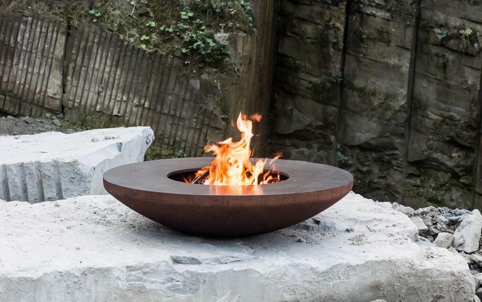 Der Feuerring Grill und Designobjekt in einem