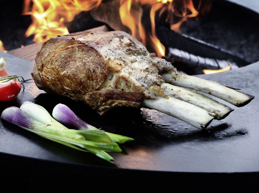 Der Feuerring - gesund grillen
